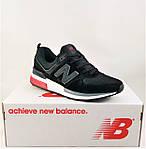 Мужские Кроссовки New Balance 574 Черные (размеры: 41,42,43,44,45) Видео Обзор, фото 10