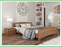 Кровать Венеция фабрика Эстелла, натуральное дерево бук Бук Щит, 180х190, 105 Ольха