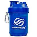 Шейкер 3-х камерний для спортивного харчування SMART SHAKER ORIGINAL FI-5053 Синій, фото 2
