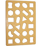 Форма Cookie Cutter для вирубки печива 33х23см 24 осередки