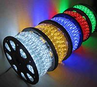 Светодиодный дюралайт 5050 зеленый, белый, красный, синий, мульти