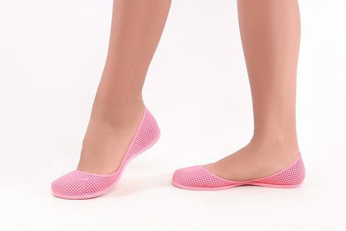Жіночі Силіконові балетки мильниці In-Ox-39 In-Ox Блідо-рожевий 39 Жіночий  (BRinox39)