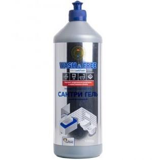 Гель для чищення ванних кімнат Wash Free Сантрі-гель 1 літр