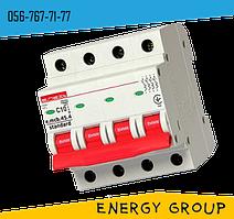 Автоматический выключатель четырехполюсный E.next 10А, 16А, 25А stand