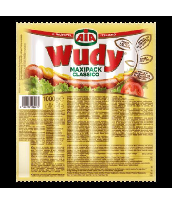 Сосиски свиные Wudy maxipack 1кг