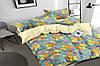 Полуторный комплект постельного белья 150*220 сатин_хлопок 100% (16333)