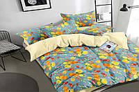 Полуторный комплект постельного белья 150*220 сатин_хлопок 100% (16333), фото 1