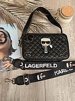 Модная женская Сумка / клатч Karl Lagerfeld ( в коробке !)