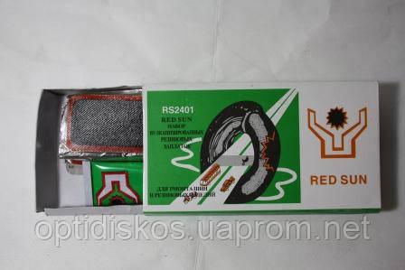 Вело-рем.компл. RS012 (12 Оваль. латки+клей)