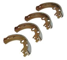Колодки тормозные задние Changhe Ideal-2
