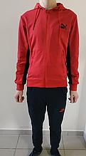 Спортивный костюм Puma красный трикотаж