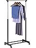 Вешалка стойка для одежды напольная телескопическая Single Pole, фото 4