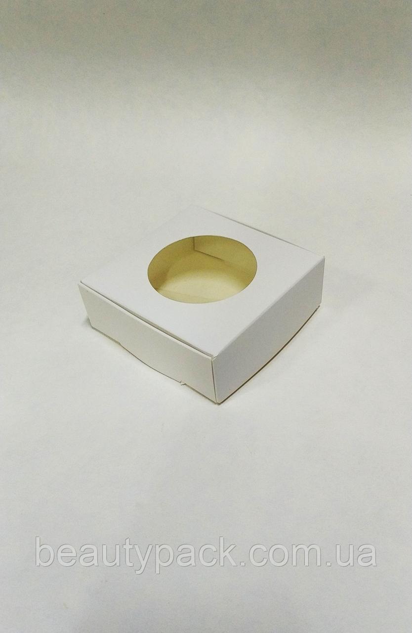 Подарочная коробка 100х100х35мм / уп-10шт