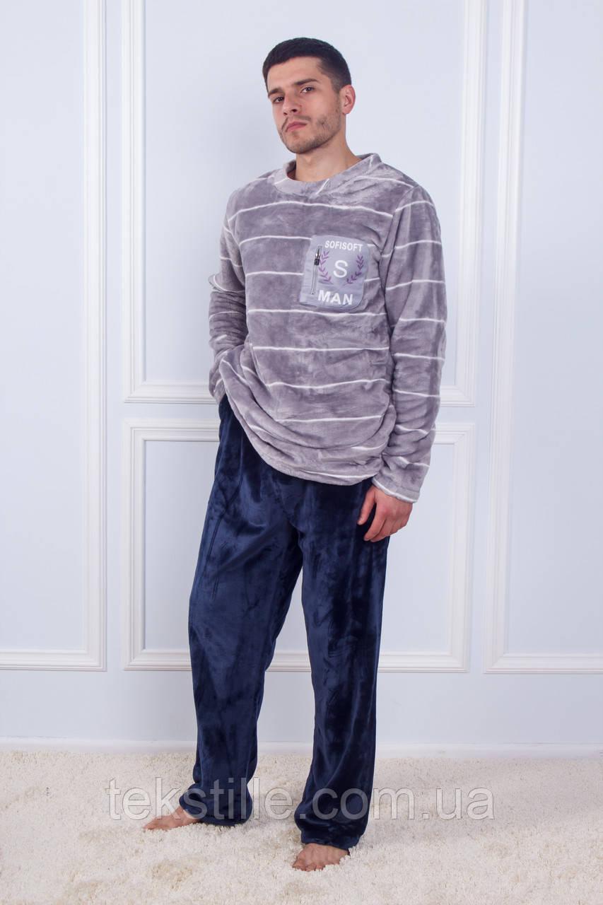 Пижама мужская махровая Бамбук 3XL