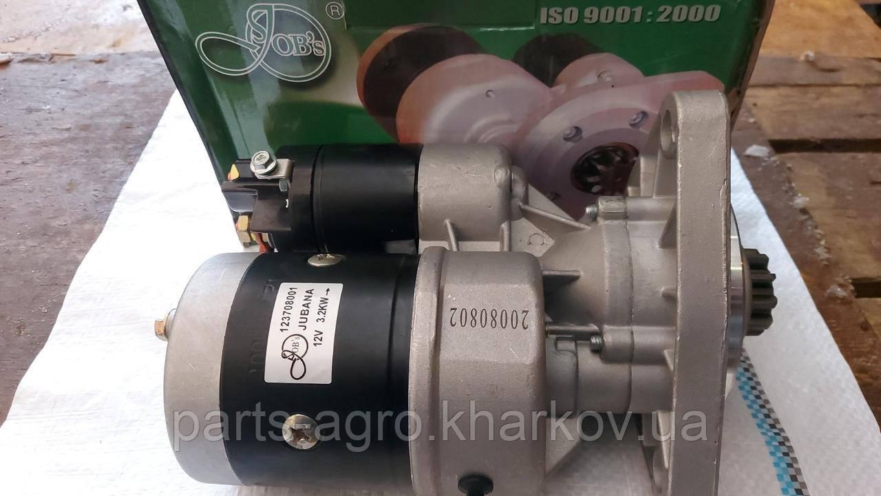 Стартер з редуктором12 вольт.3.2 кв (усилинный) трактора МТЗ, Т-40, Т-25, Т-16 ЮМЗ