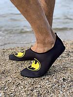 Неопреновая обувь аквашузы Skin Shoes Бетмен 40-41
