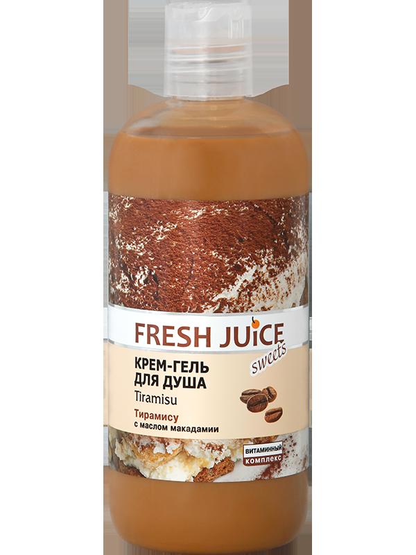 Крем-гель для душу. Тірамісу 500 мл Fresh Juice