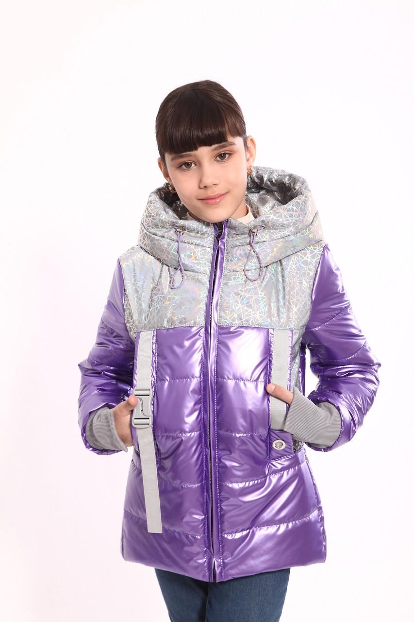 Демісезонна куртка для дівчаток 146 зростання