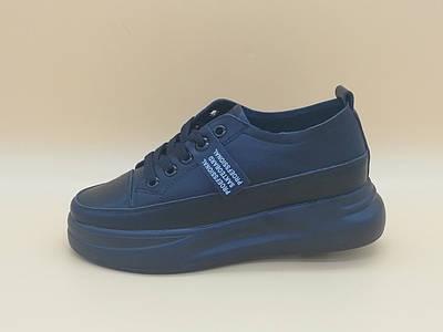 Черные кроссовки. Маленькие размеры ( 33 - 35 ).