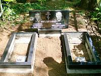 Двойной памятник гранитный №110