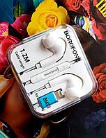 Наушники для iPhone вакуумные оригинального качества с разъемом Lightning