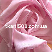 Шифон однотонний(Світло-Рожевий)