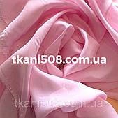 Ткань   Шифон (1,5 м ) однотонный(Светло-Розовый)
