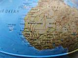 Глобус Атлантис , пр-во Италия  с подсветкой 30 см, укр. яз., фото 3