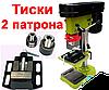 Copy Сверлильный станок Eltos HCC-1500 (1500 Вт, 5 скоростей) тиски,два патрона,набор сверл в комплекте, фото 5