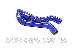 Патрубок радиатора ВАЗ 2108 (компл. 4 шт. силикон)