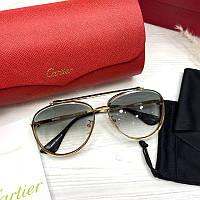 Жіночі сонцезахисні вузькі квадратні окуляри в леопардовій оправі (коричневі), фото 1