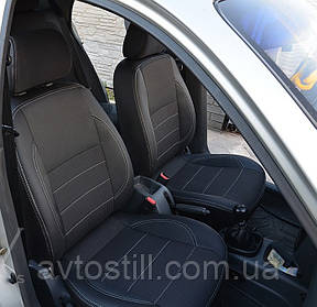 Чохли в салон Ford Fiesta MK7 ❘ авточохли Фієста (2009-2018)