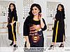Сукня жіноча прямого крою чорне (2 кольори) ЕК/-291471