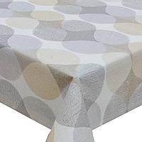 Декоративная клеенка в рулоне на нетканой основе с уплотнением Premium ПВХ, 1.37х25м, клеенка ПВХ для стола,