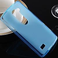 TPU чехол для LG Ray X190 голубой