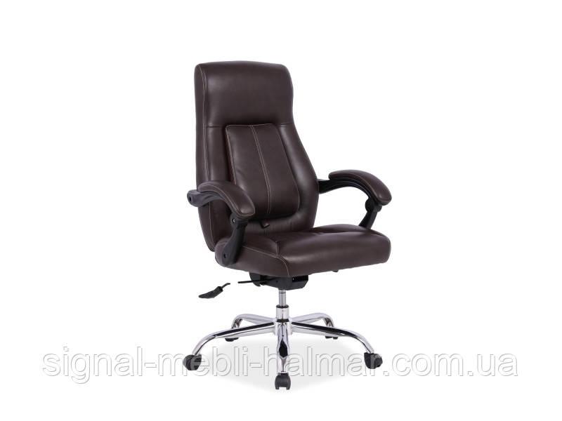 Кресло компьютерное BOSS черный(Signal)