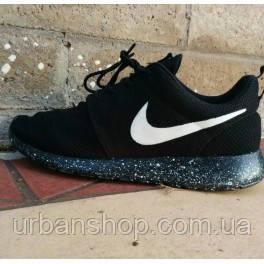 c94f9e6f4571 Купить Кроссовки Nike Roshe Run black в Интернет-магазине