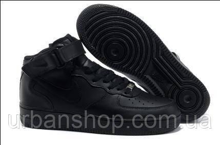 Кросівки Nike Air Force black high. Увага! Щоб ЗАМОВИТИ писати на Viber +380954029358
