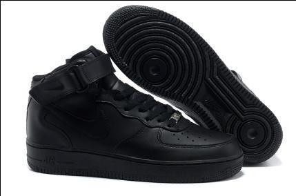 КРОССОВКИ Nike Air Force black high