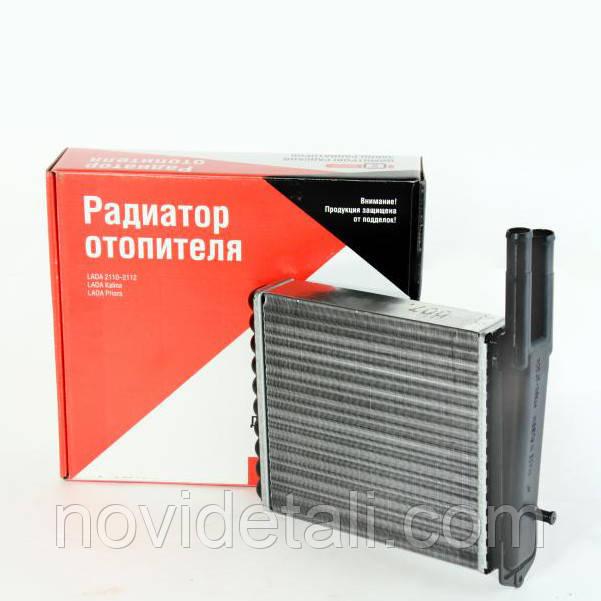 Радіатор опалювача ВАЗ 2110 2111 2112 2170 Пріора 2171 2172 нового зразка після 2003 р. в. (пічка) ДААЗ