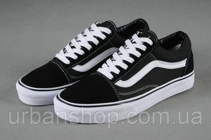 Кеди Vans Old Skool Black/White
