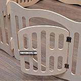 Домашний вольер (манеж) для щенков и маленьких собачек. 6 секций. Высота 40 см, фото 2