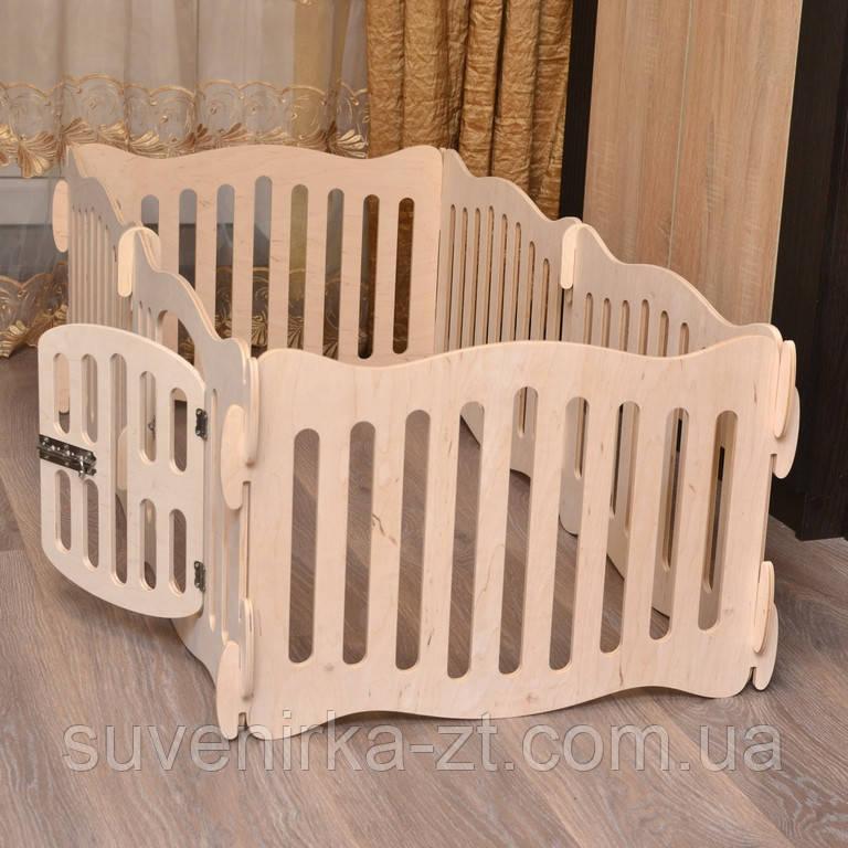 Домашний вольер (манеж) для щенков и маленьких собачек. 6 секций. Высота 40 см