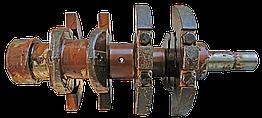 Вал коленчатый Д21 (d12 mm) (упаковка деревянный ящик) (качество !). Вал колінчастий, Д21 (d12 m)