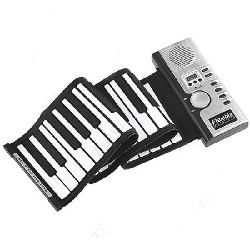 """Гибкая MIDI клавиатура, синтезатор, пианино, 61 кл - Интернет-магазин """"Дрібниці"""" в Киеве"""