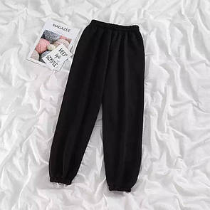Cпортивные штаны женские из двунитки на резинках в расцветках (р. 42 - 48) 40bu577