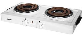Электрическая настольная плита Мечта 211Т 2-х конф. белая,черная
