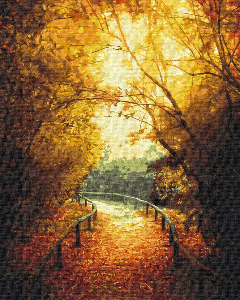 Картина по номерам. Art Craft Теплая осень 40*50 см 10540-AC