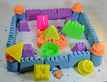 Кінетичний кольоровий пісок 1 кг, фото 2