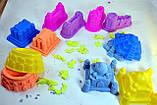 Кінетичний кольоровий пісок 1 кг, фото 3
